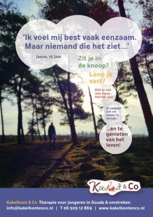 KC poster eenzaamheid